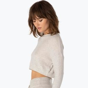 In Line Cropped Pullover--Beyond Yoga